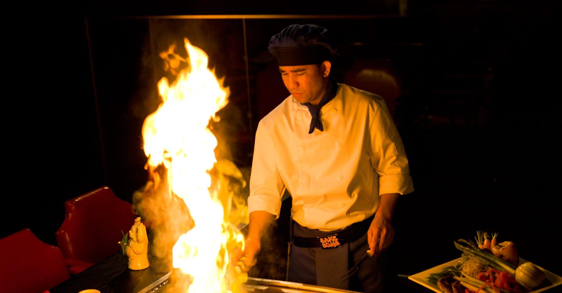 Celebrate with Ichiban Teppanyaki