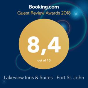 Booking.com Guest Review Awards 2018 Recipient